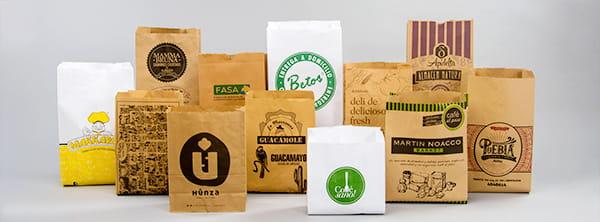 Solución de Packaging para Delivery - Bolsas y envoltorios