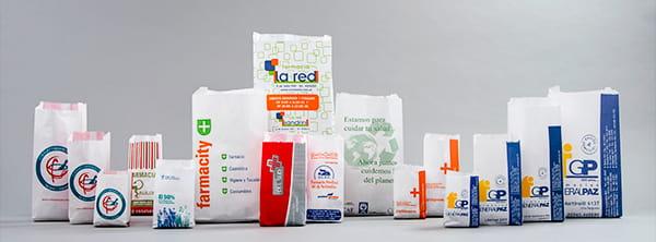 Solución de Packaging para Farmacia - Bolsas y envoltorios